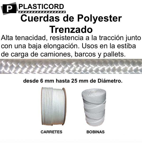 11 Cuerdas de Polyester Trenzado