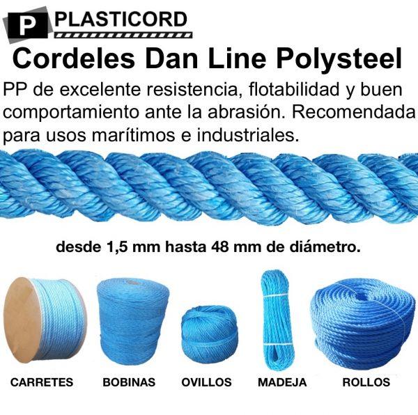 04 Cordeles y Cabos de PP Dan Line Polysteel