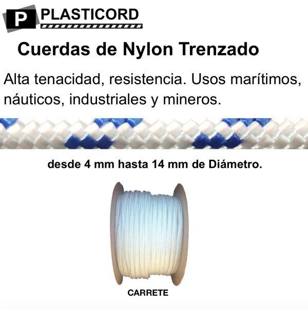 10 Cuerdas de Nylon Trenzado