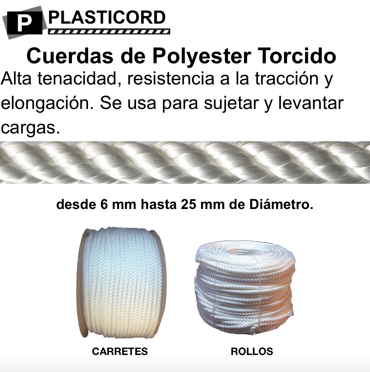 polyester torcido